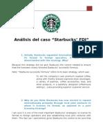 """Análisis Del Caso """"Starbucks' FDI"""""""