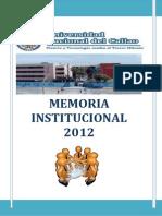 Memoria 2012 u Callao