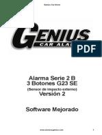 Alarma Genius 2B 3bot Se V2