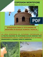 Montefiore, (4) Estrategias Para El Ecoturismo. (1)