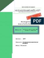 M14 Dessin Des Plans de BA Coffrage-BTP-DB-T