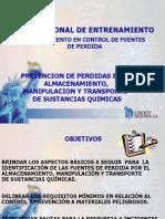 PREVENCION PERDIDAS QUIMICOS