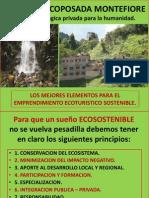 MONTEFIORE, (2) ELEMENTOS Del Ecoturismo Sostenible.