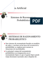 4.2 Sistemas de Razonamiento Probabilistico
