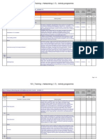 Workplan - Daily Timetable and Budget