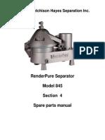 Hh 845 Render Pure Parts Manual