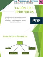 Relacion CPU Perifericos