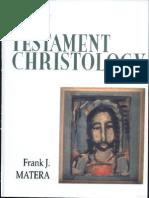New Testament Christology - Frank Matera