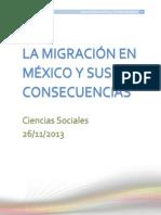 La Migración en México y Sus Consecuencias