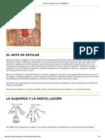 Alambique y Destilación