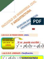 Metodo EDO Lineal