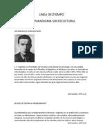 Linea Del Paradigma Socio-cultural