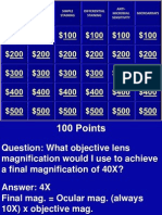 Microbiology Jeopardy Review