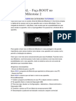 TUTORIAL – Faça ROOT No Motorola Milestone 2