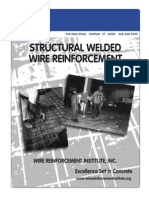 Manual of Standard Practice for Welded Wire Mesh Reinforcement