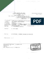 Apelación presentada por Sergio Tejada contra Res. a favor de ex presidente Alan Garcia