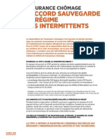 CFDT - Tract Intermittents - 15/05/2014