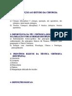INTRODUÇÃO AO ESTUDO DA CIRURGIAb.doc