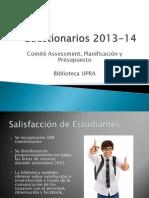 cuestionarios estudiantes 2013-14