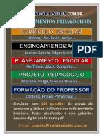 Conhec Pedag - Ce Ea Pe Pp Fp - Vm Simulados Divulgacao-Ago-2012