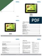 User Manual Me Tablet Connect v3