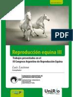 Libro Congreso Argentino Equinos 2013