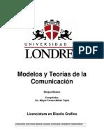 Modelos y Teorias de La Comunicacion