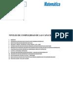 N Iveles de Complejidad de Capacidades