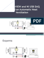 Using LabVIEW and NI USB DAQ to Build an Automatic Heat Ventilation