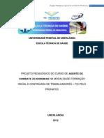 Projeto Pedagógico FIC - Agente de Combate Às Endemias