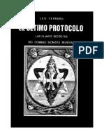 Leo Ferraro - El último protocolo. Las claves secretas del dominio sionista mundial.pdf