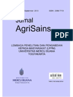 Jurnal Agrisains Vol. 4 No. 7. September 2013 Compress