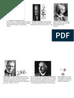 Linea Del Tiempo Por César Rentería (Práctica Historia Del Átomo Para Imprimir)