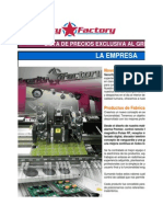 Secur Factory Lista Mayo 2014
