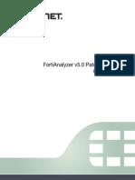 FortiAnalyzer 5.0.5 CLI Reference