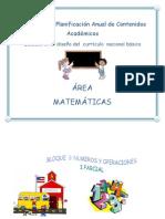 Planes Matematicas Listos