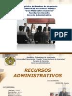 EXPOSICION RECURSOS ADMINISTRATIVOS