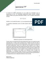 Control Proporcional con Matlab