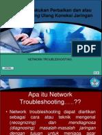 Melakukan Perbaikan Dan Atau Seting Ulang Koneksi Jaringan (NETWORK Troubleshoot 1)