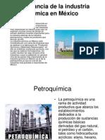 Importancia de La Industria Química en México