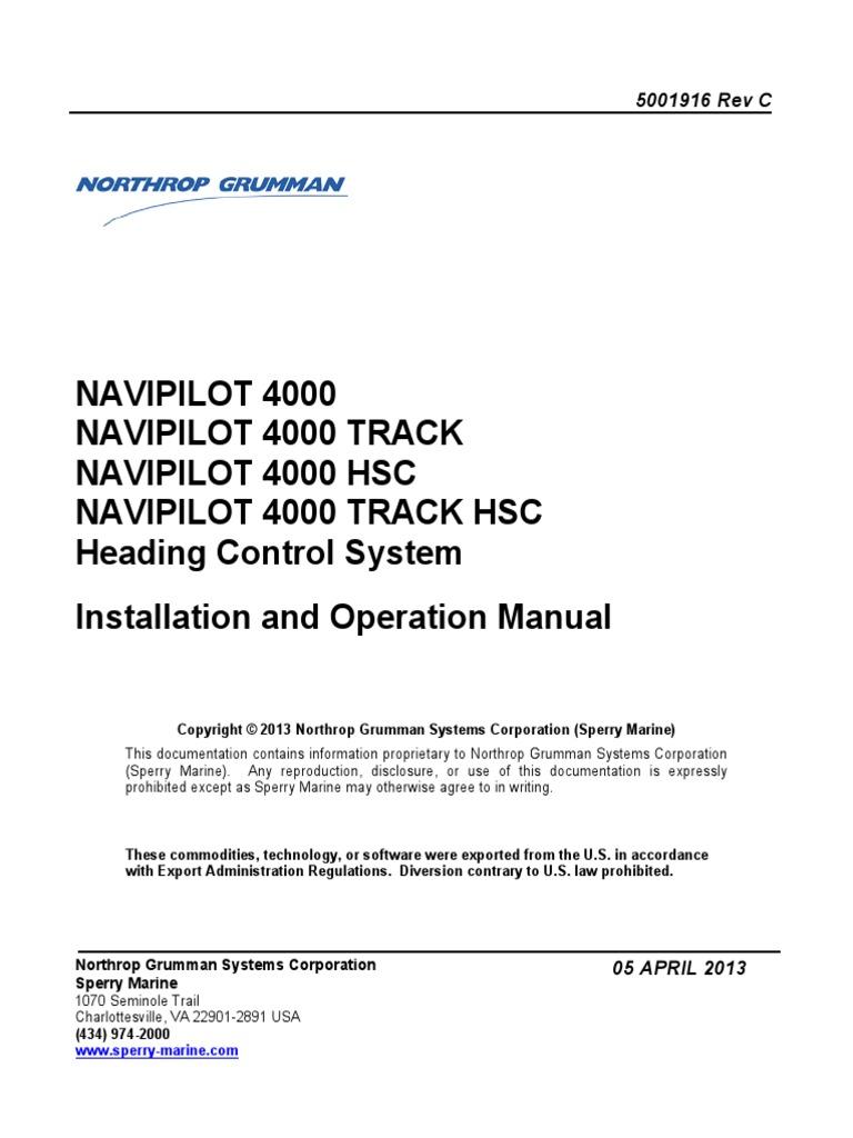 navipilot 4000 4961012801 navigation electrical engineering rh es scribd com Radar Symbol Decca Radar Logo