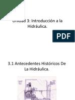 Unidad 3- Introducción a La Hidráulica