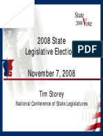 Control of State Governments 2008-2009- NCSL