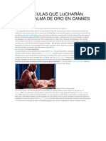 PALMA DE ORO EN CANNES 2013