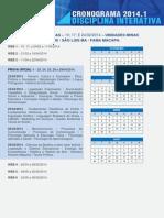 Cronograma de Atividades - Unidades Minas Gerais_Sao Luis MA_ Fama Macapa (2)_20140408230157