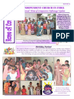 Home of Compassion Orphanage Newsletter May 2014