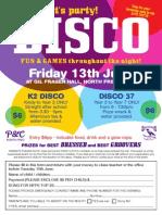 School Disco 2014