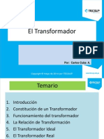 El Transformador Ideal y Real - Tecsup.pptx