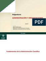 Administración y Organizaciones_Clase 4