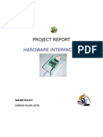 Project Report Hardware Interfacing